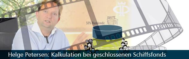 Kalkulation bei geschlossenen Schiffsfonds – Wie funktioniert das?