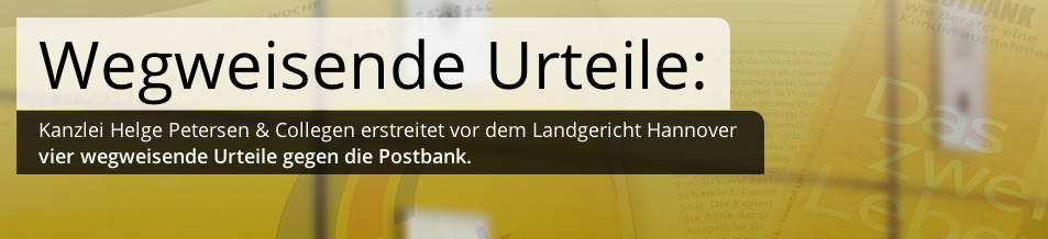 urteile-postbank-finanzberatung