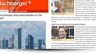 Helge Petersen zu Gast bei Maischberger