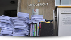 Klagen gegen Postbankfinanzberatung AG